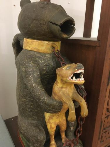 Bear and tiger