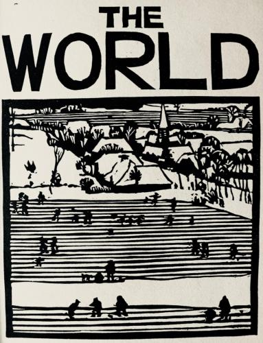 The World page from Pictures For Breughel